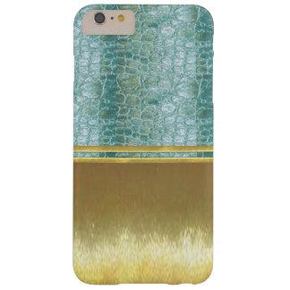 Las ilusiones del oro refrescan la caja de Shell Funda De iPhone 6 Plus Barely There