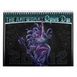 Las ilustraciones del calendario de Däi 2012 del o