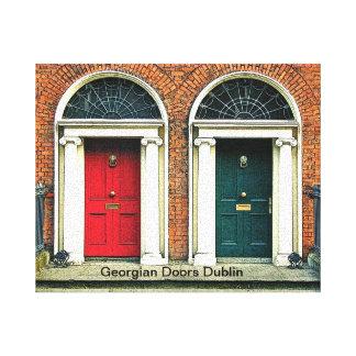 Las imágenes irlandesas envolvieron la lona impresiones en lienzo estiradas