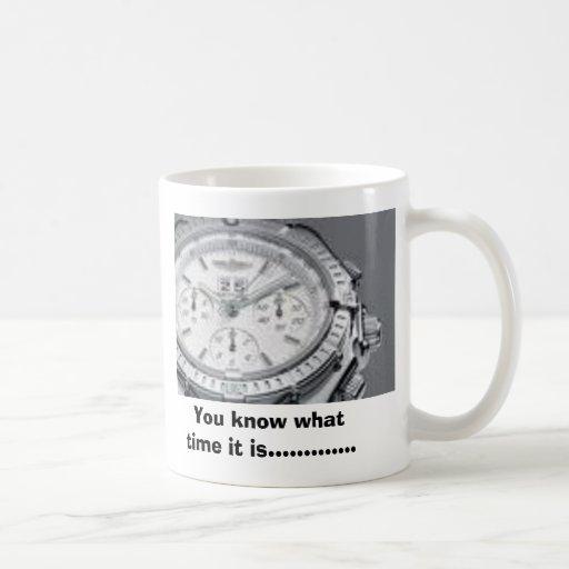 las imágenes, usted sabe que cuándo es ........... taza básica blanca
