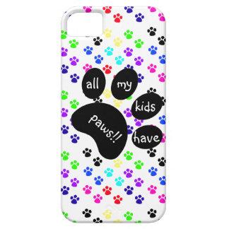 ¡Las impresiones coloridas del mascota todos mis iPhone 5 Case-Mate Funda