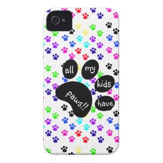 ¡Las impresiones coloridas del mascota todos mis iPhone 4 Protectores