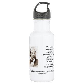 Las invenciones de Gustave Flaubert verdad ciencia