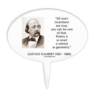 Las invenciones de Gustave Flaubert verdad ciencia Decoraciones De Tartas