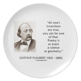 Las invenciones de Gustave Flaubert verdad ciencia Platos Para Fiestas