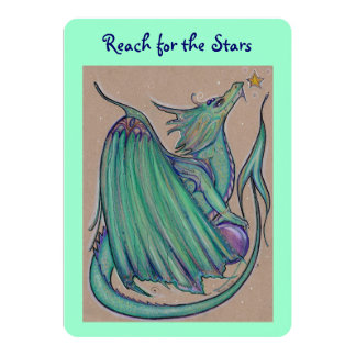 Las invitaciones del dragón del jade por Renee L. Invitación 12,7 X 17,8 Cm