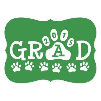 Las invitaciones del GRADUADO 2015 ponen verde la Invitación 12,7 X 17,8 Cm