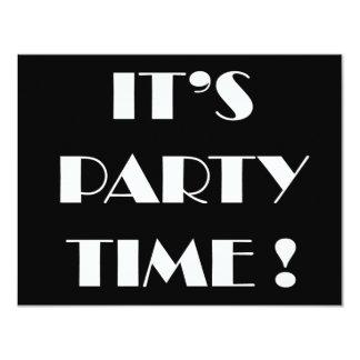 """Las invitaciones """"es tiempo del fiesta"""" - invitación 4.25"""" x 5.5"""""""