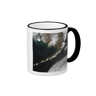 Las islas Aleutian y la península de Alaska Taza De Café
