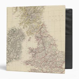 """Las islas británicas carpeta 1 1/2"""""""