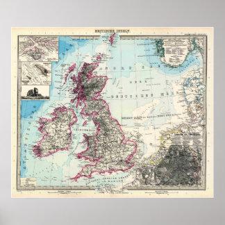 Las islas británicas poster