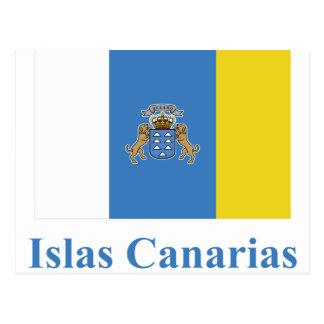 Las islas Canarias señalan por medio de una Postal