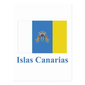 Las islas Canarias señalan por medio de una Tarjeta Postal
