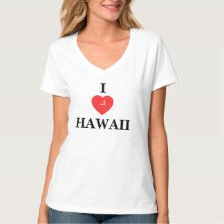 Las islas de Hawaii se levantan la paleta Polera