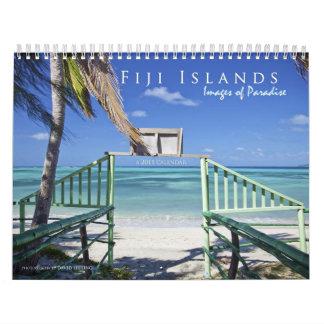 Las Islas Fiji: Imágenes del paraíso Calendario