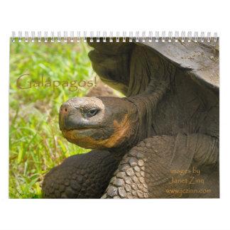 ¡Las Islas Galápagos! Calendario