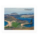 Las Islas Galápagos - Ecuador Tarjeta Postal