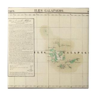 Las Islas Galápagos Oceanía ningunos 17 Azulejo Cuadrado Pequeño