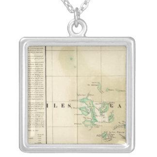 Las Islas Galápagos Oceanía ningunos 17 Colgante Cuadrado