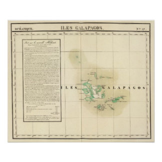Las Islas Galápagos Oceanía ningunos 17 Poster