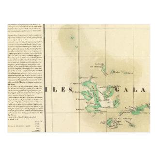 Las Islas Galápagos Oceanía ningunos 17 Postal