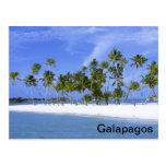 Las Islas Galápagos - playa Tarjetas Postales