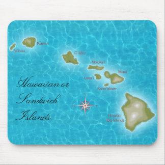 Las islas hawaianas alfombrillas de ratones