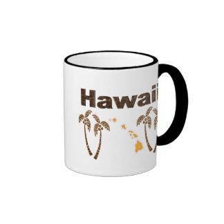 Las islas hawaianas taza de café