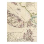 Las islas jónicas y la Malta Tarjetas Postales
