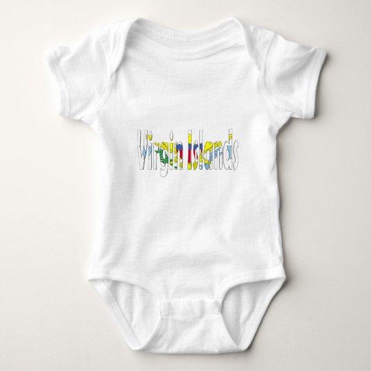Las Islas Vírgenes Body Para Bebé