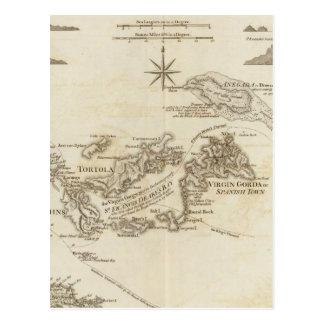 Las Islas Vírgenes Postal