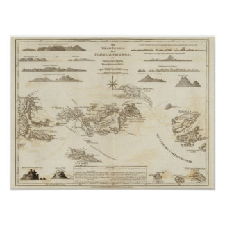 Las Islas Vírgenes Póster