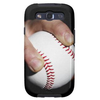 Las jarras dan agarrar un béisbol galaxy s3 cobertura