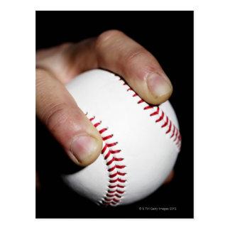 Las jarras dan agarrar un béisbol postales