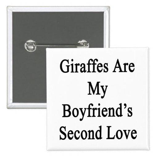 Las jirafas son el amor de mi novio en segundo lug pins