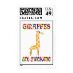 Las jirafas son impresionantes sello