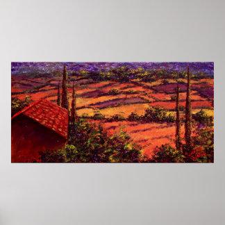 Las joyas de Provence Poster