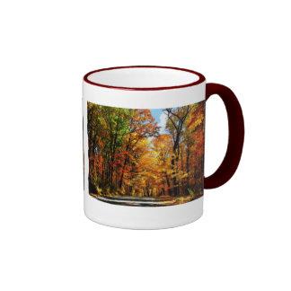 Las joyas del otoño - taza