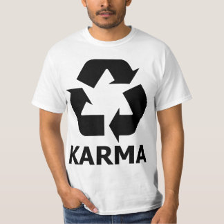Las karmas reciclan playera