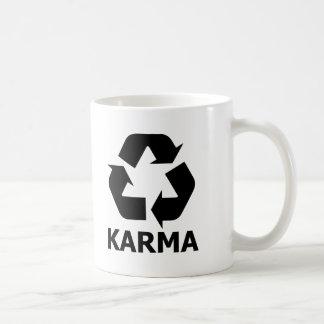 Las karmas reciclan taza clásica