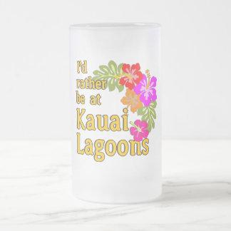 Las lagunas de Kauai estaría bastante en la laguna Taza De Cristal