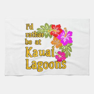 Las lagunas de Kauai estaría bastante en la laguna Toallas De Mano