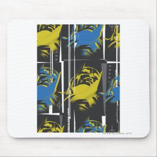 Las leyendas urbanas de Batman - enmascare el azul Tapete De Raton