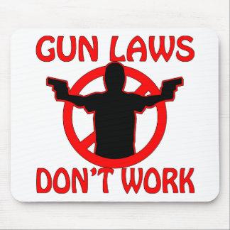 Las leyes del arma no trabajan alfombrillas de raton