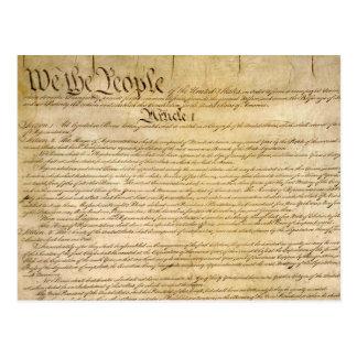 ¡Las libertades constitucionales de los E.E.U.U. - Postales