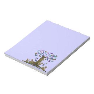 Las libretas de la casa del árbol de las ardillas blocs de notas