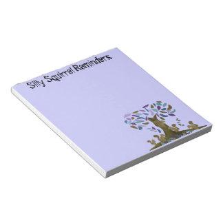 Las libretas de la casa del árbol de las ardillas bloc de notas