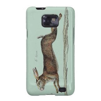 Las liebres que compiten con en Pascua Samsung Galaxy S2 Carcasa