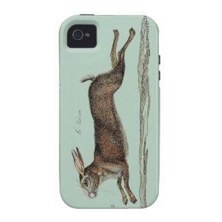 Las liebres que compiten con en Pascua Case-Mate iPhone 4 Carcasas
