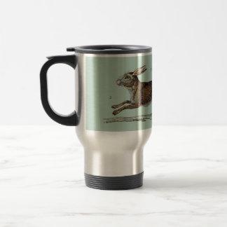 Las liebres que compiten con en Pascua Taza De Café